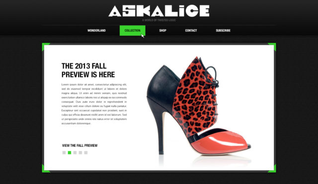 Ask Alice Shoes by S. Sifantus