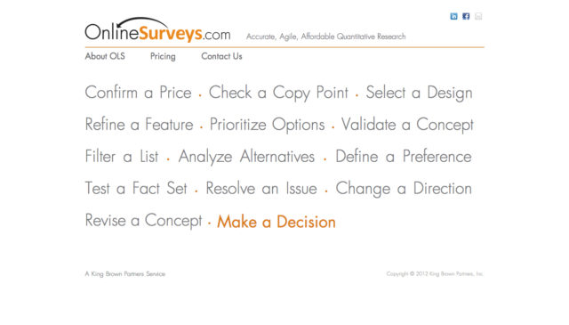 OnlineSurveys.com by S. Sifantus