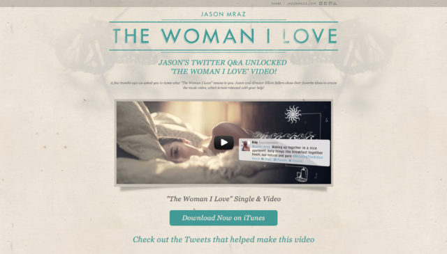 "Jason Mraz ""The Woman I Love"" by S. Sifantus"