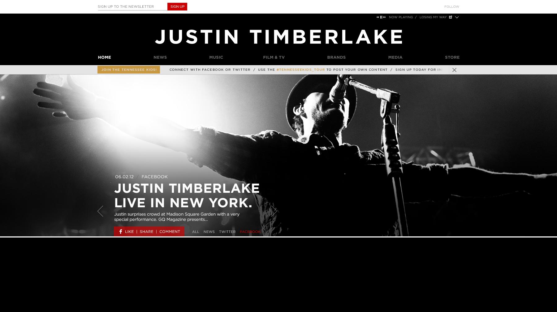 Justin Timberlake Music