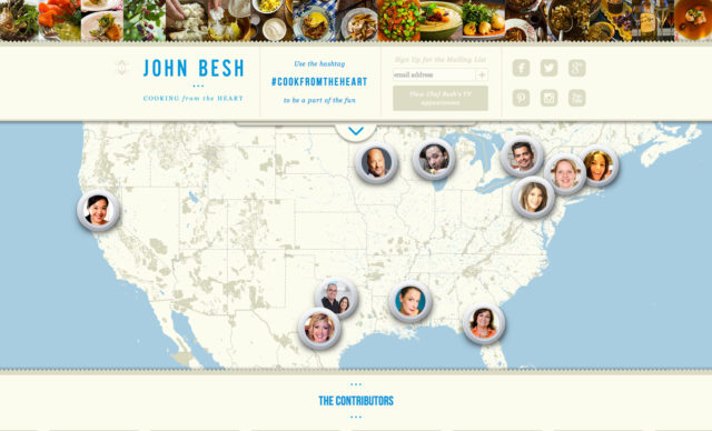 """John Besh """"Cooking From the Heart"""""""