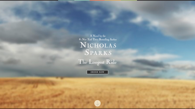 Nicholas Sparks by S. Sifantus