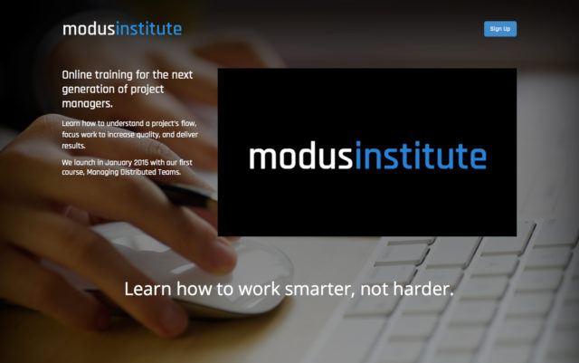 Modus Institute by S. Sifantus