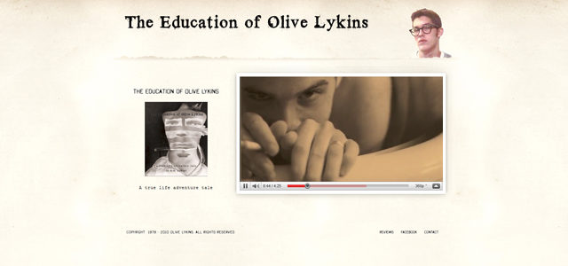 The Education of Olive Lykins by S. Sifantus